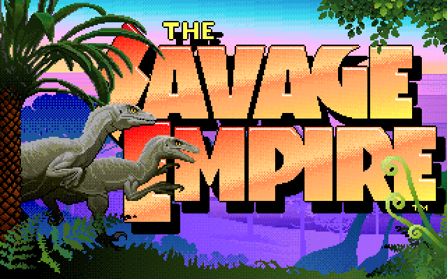 Worlds of Ultima: Savage Empire title screen