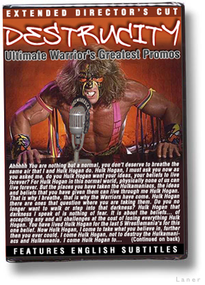 Destrucity - Ultimate Warrior's Greatest Promos (Rejected WWE DVDs)