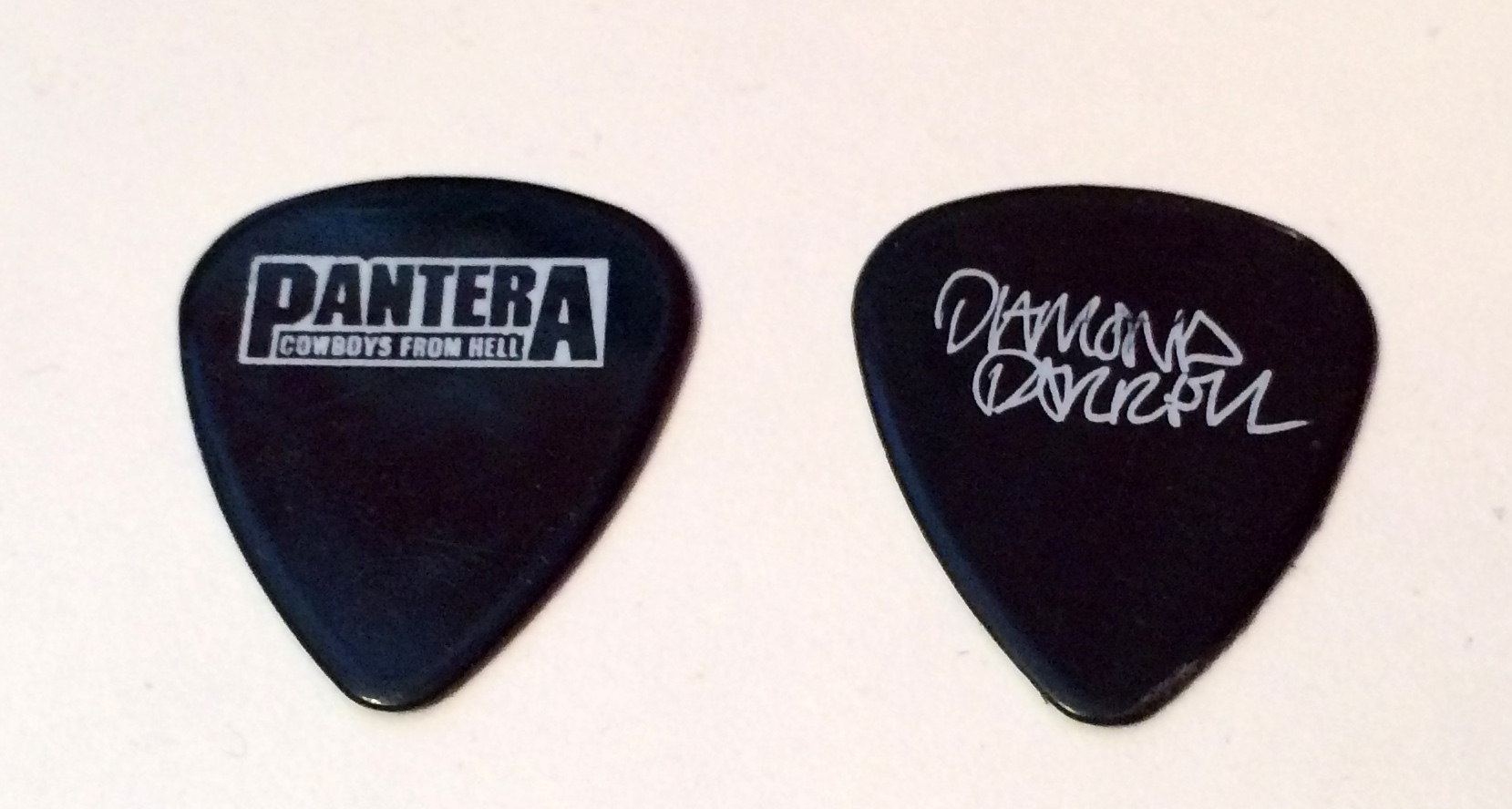 Diamond Darrell (Pantera) guitar pick