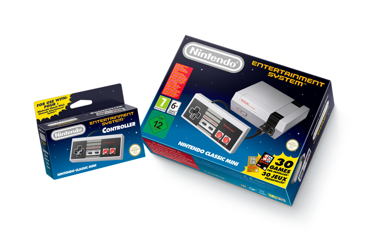 Classic Mini Nintendo Entertainment System